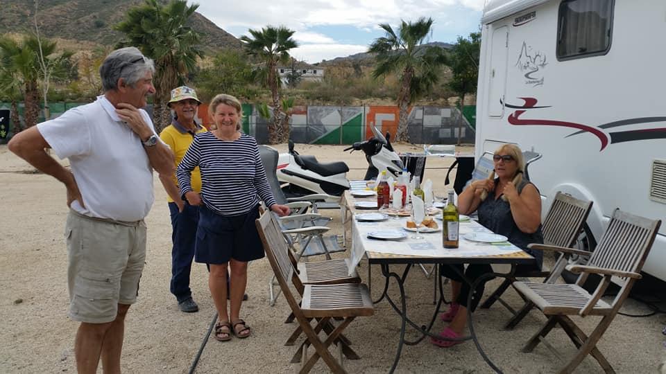 area caravanas murcia camping murcia